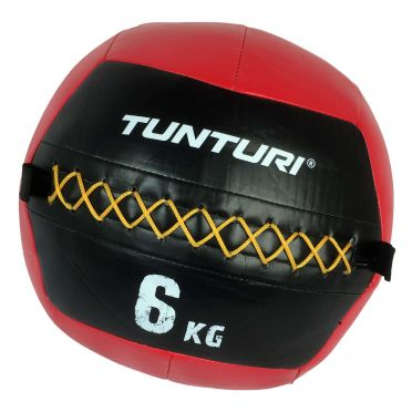 Tunturi Wall ball 6kg Rot