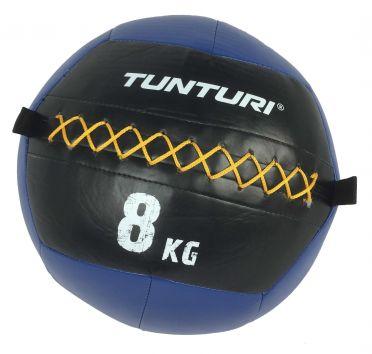 Tunturi Wall ball 8kg Blau