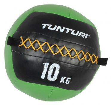 Tunturi Wall ball 10kg Grün