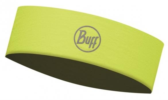 BUFF Headband Stirnband slim R-solid Gelb fluor  113653117