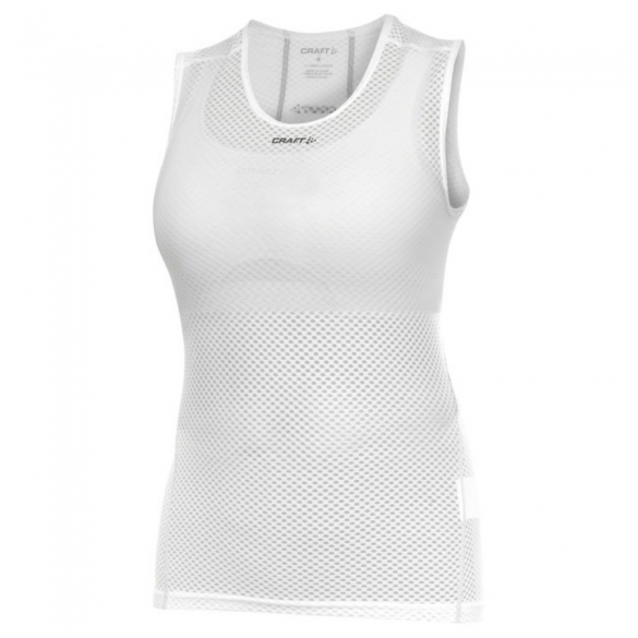 Craft Stay Cool Mesh Superlight Sleeveless Shirt Damen Weiß  1900040-1900