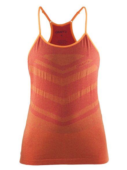 Craft cool comfort Singlet ärmellos Orange/Push Damen  1904912-2411