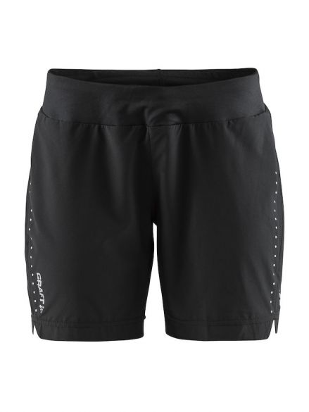 Craft Essential 7 inch Laufshort Schwarz Damen  1906205-999000