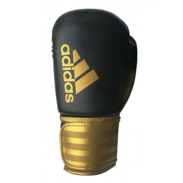 Adidas Hybrid 100 (Kick)Boxhandschuhe Schwarz/Gold  ADIH100-90350VRR