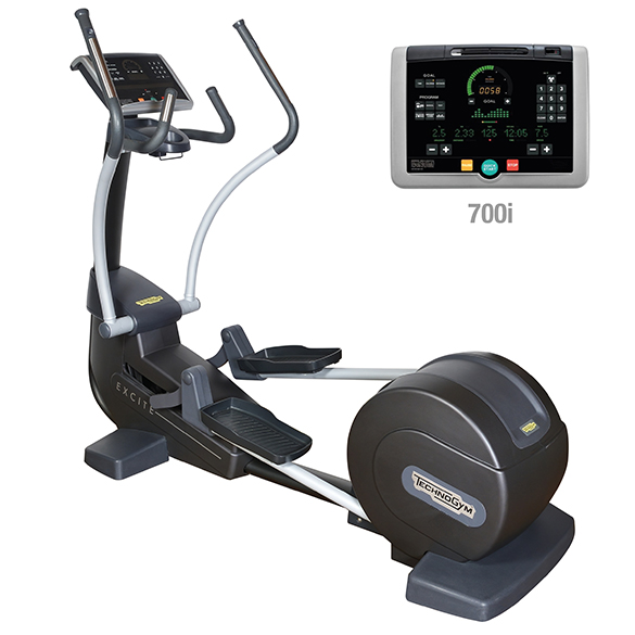 TechnoGym Crosstrainer Synchro Excite+ 700i Schwarz gebraucht  BBTGSE700IZW