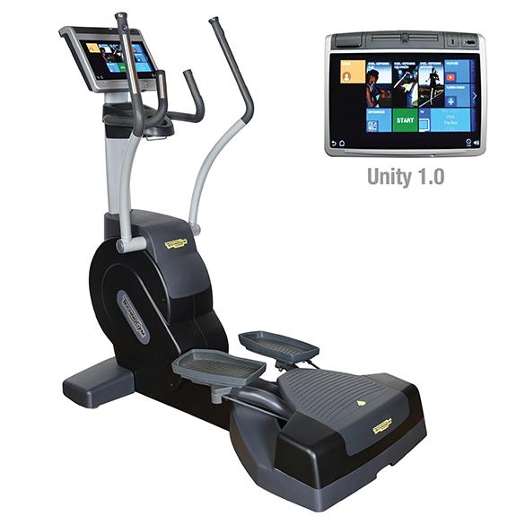 TechnoGym Lateral trainer Excite+ Crossover 700 Unity Schwarz gebraucht  BBTGEC700UZW