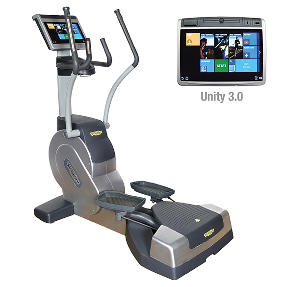 TechnoGym Lateral trainer Excite+ Crossover 700 Unity 3.0 Silber gebraucht  BBTGEC7003UZI