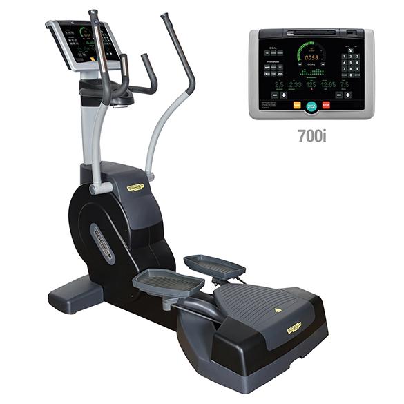 TechnoGym Lateral trainer Crossover Excite+ 700i Schwarz gebraucht  BBTGCE700IZW