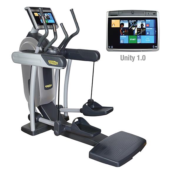 TechnoGym Crosstrainer Excite+ Vario 700 Unity Silber gebraucht  BBTGEV700UZI