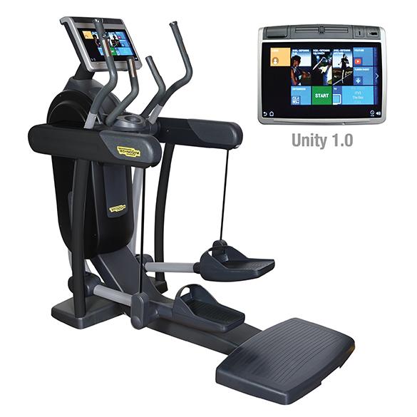 TechnoGym Crosstrainer Excite+ Vario 700 Unity Schwarz gebraucht  BBTGEV700UZW
