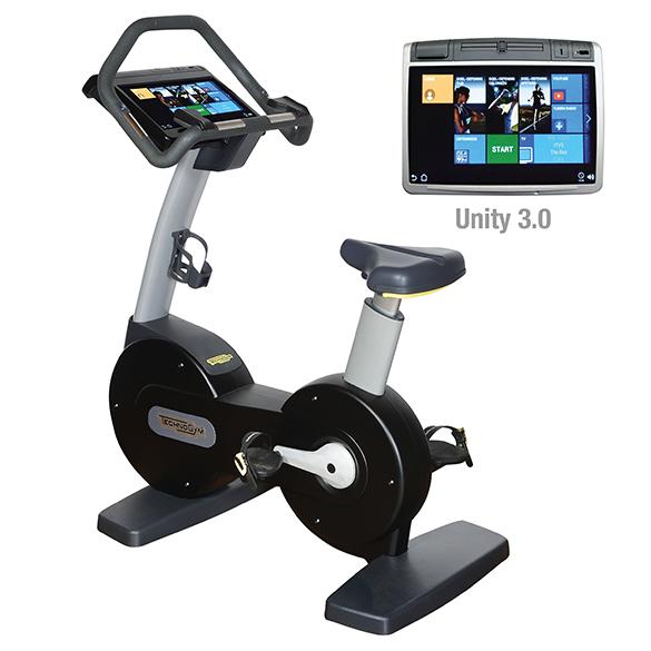 Technogym Heimtrainer Excite+ New Bike 700 Unity 3.0 Schwarz gebraucht  BBTGENB700U3ZW