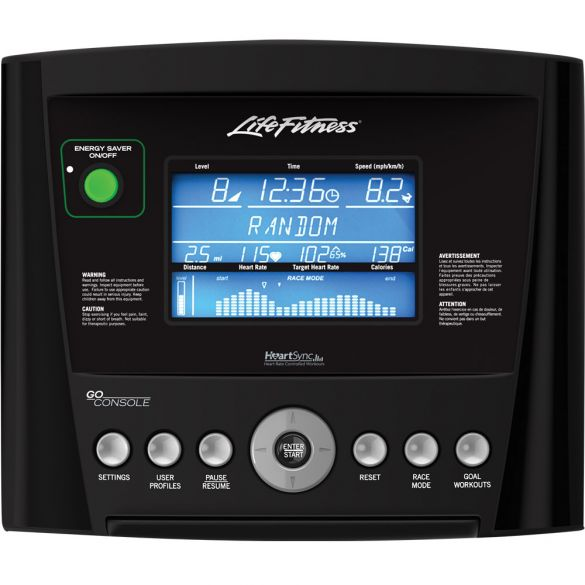 Life Fitness Go console  GC-000X-0105