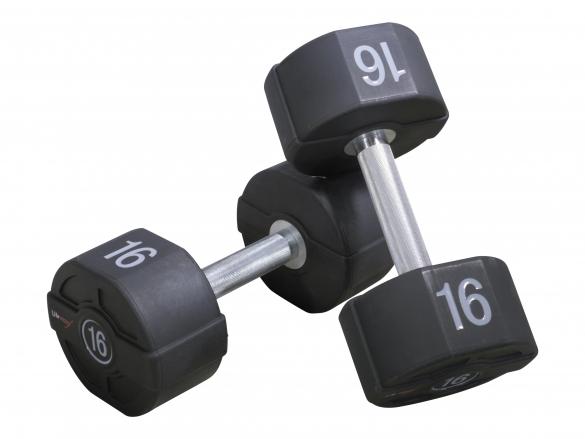 Lifemaxx PU dumbbellset LMX72.40kg  LMX72.40KG