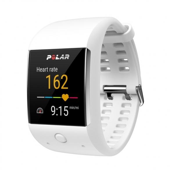 Polar M600 Sportuhr Weiß GPS  90062397