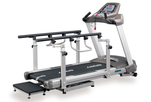 Spirit Laufband Medical MEDT200 mit Incline und Decline  MEDT200