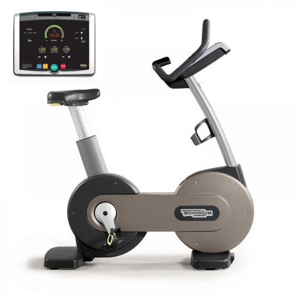 Technogym Heimtrainer Bike Excite+ 500i Silber gebraucht  BBTGNBE500IZI