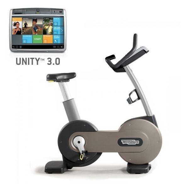 Technogym Heimtrainer Excite+ New Bike 700 Unity 3.0 Silber gebraucht  BBTGENB700U3ZI