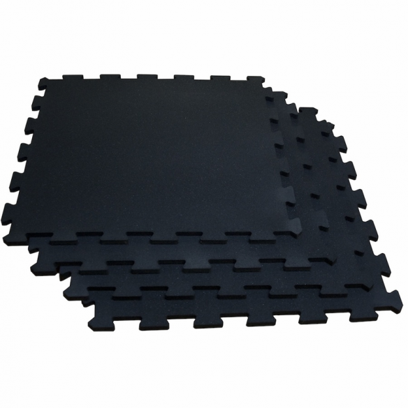 Body-Solid Puzzlematte set 100 x 100 cm solid black  RF4PMB