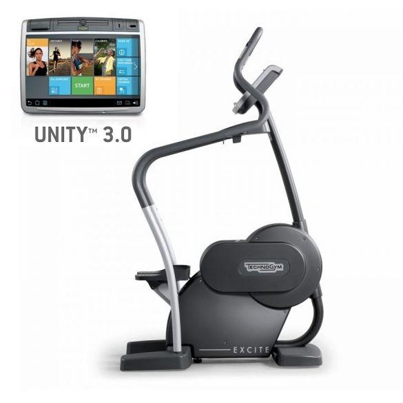 Technogym Stepper Excite+ Step 700 Unity 3.0 Schwarz gebraucht  BBTGEST700U3ZW