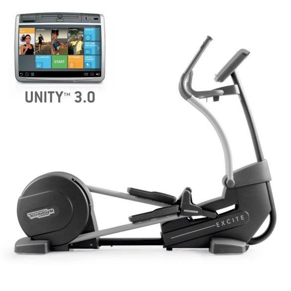 TechnoGym Crosstrainer Excite+ Synchro 700 Unity 3.0 Schwarz gebraucht  BBTGESY700U3ZW