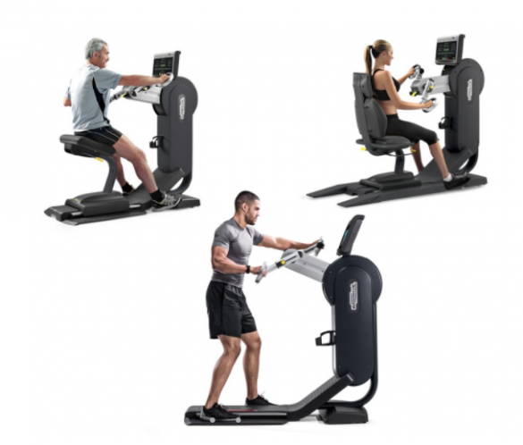 technogym arm ergometer top excite 700 visioweb silber. Black Bedroom Furniture Sets. Home Design Ideas