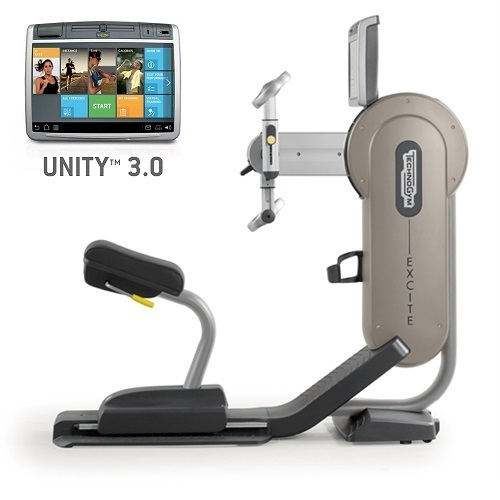 Technogym Arm Ergometer Excite+ Top 700 Unity 3.0 Silber gebraucht  BBTGET700U3ZI