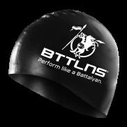 BTTLNS Silicone Badekappe schwarz Absorber 2.0