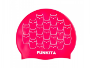 Funky Trunks Silikon Badekappe Funkita Kitten Kluster
