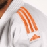 Adidas Judoanzug J990 Millenium Weiß/Orange  ADIJ990-WO